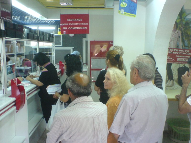 ניהול תורים בשרת דואר ישראל