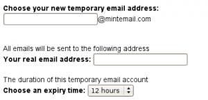 שירות פירוורד לדואר חד פעמי