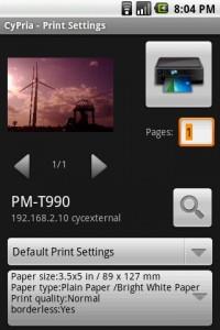 cyprint android printing